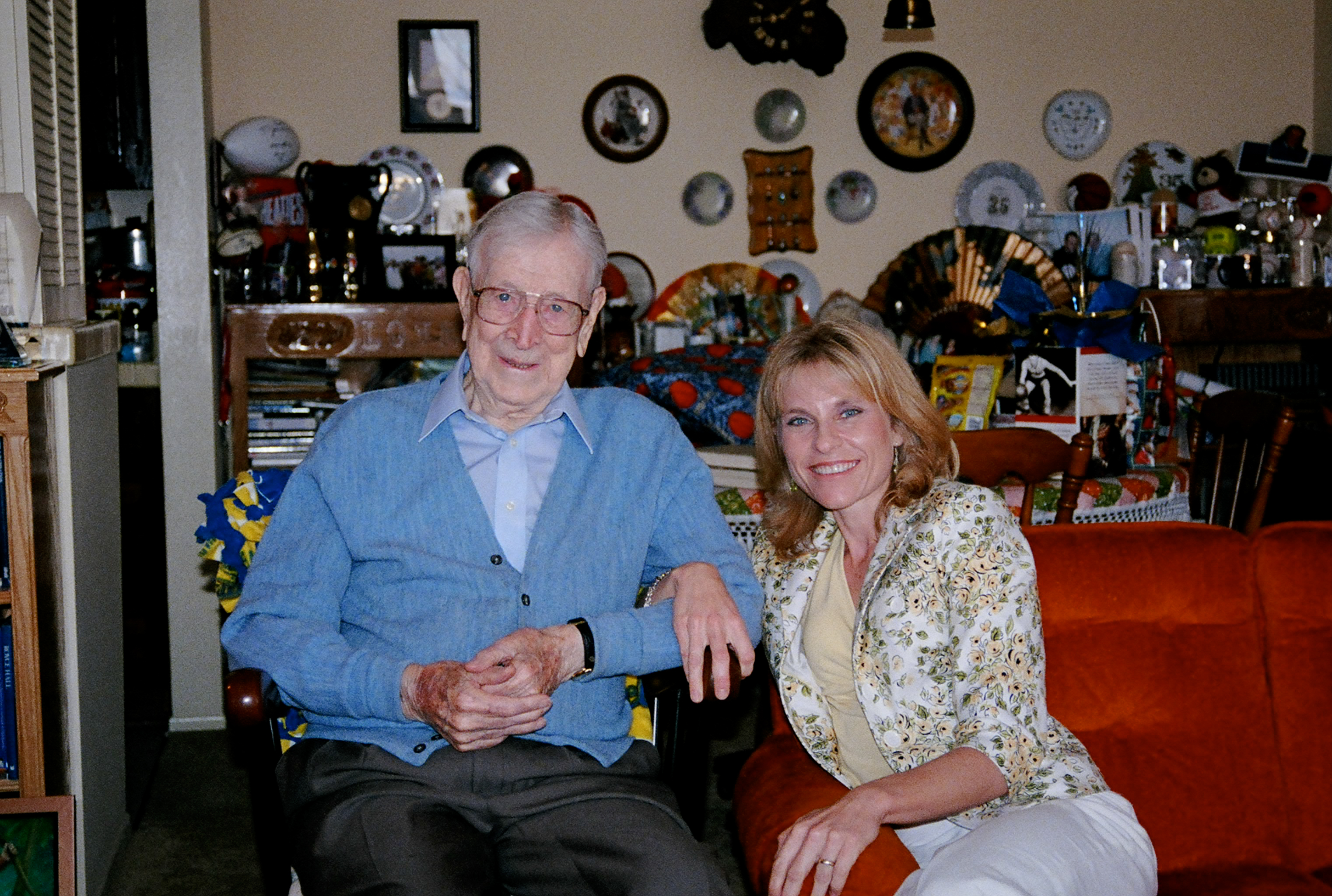 My incredible visit with John Wooden