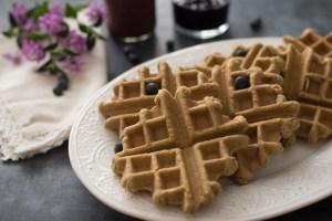 Gluten Free Vegan Teff Waffles