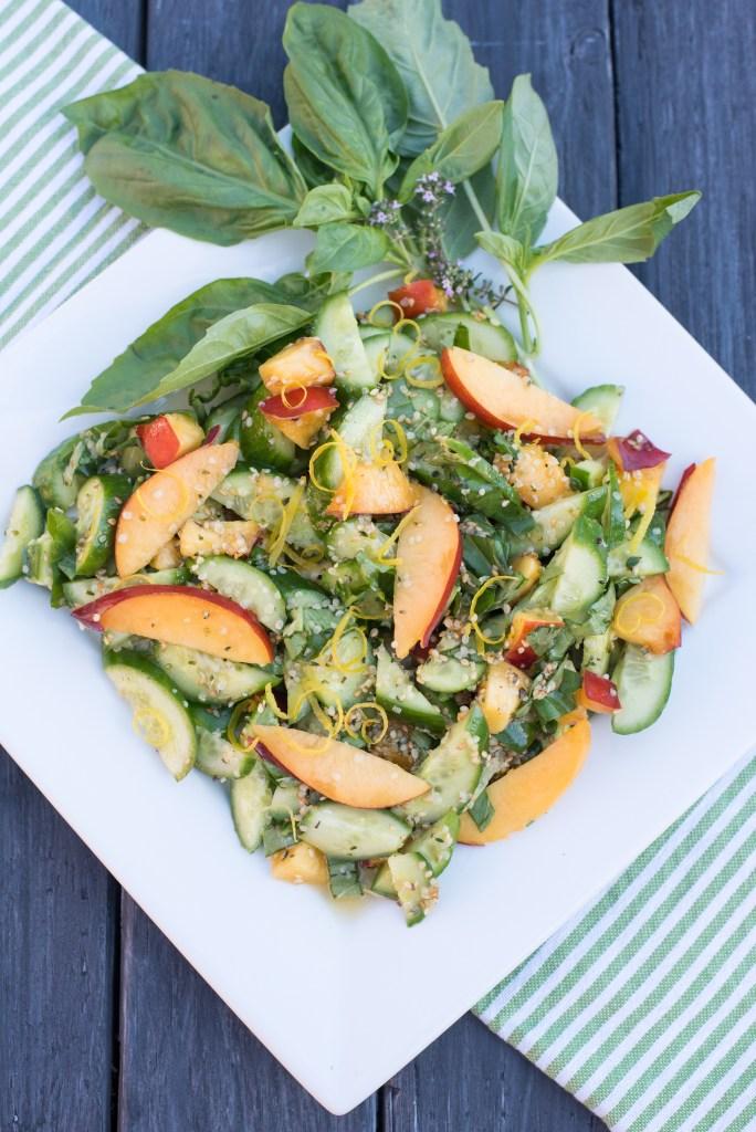 Summer Zaatar Salad