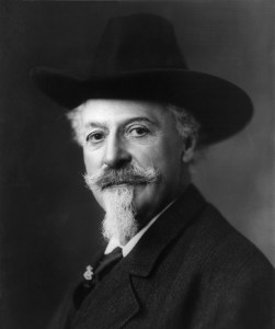 "A portrait of William ""Buffalo Bill"" Cody."