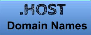 Free .HOST Domain name