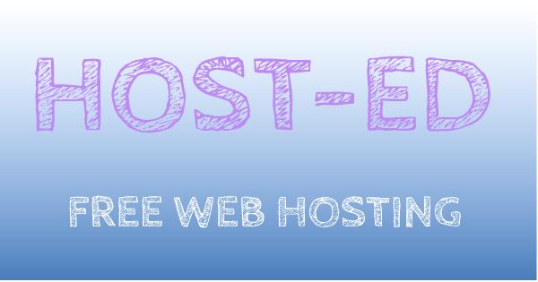 HOST-ED Free Web Hosting Review