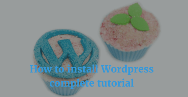 How to install Wordpress complete tutorial