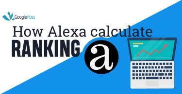 Alexa calculating ranking