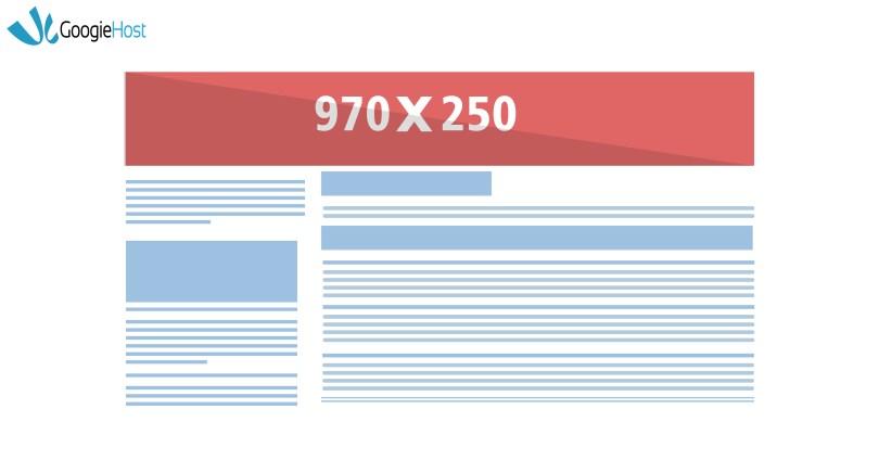 google ad size The Billboard 970x250