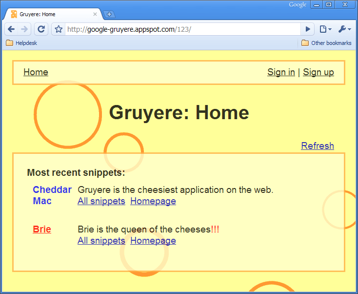 Image result for google gruyere