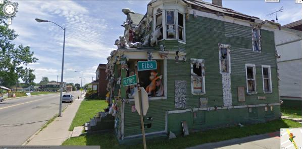 Google Maps Street View Detroit - Year of Clean Water