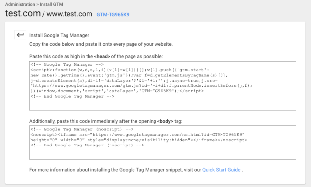 install-google-tag-manager