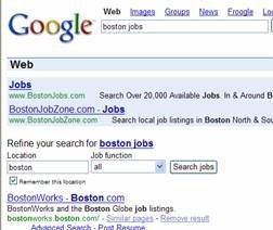 구글의 첫번째 검색결과 테스트