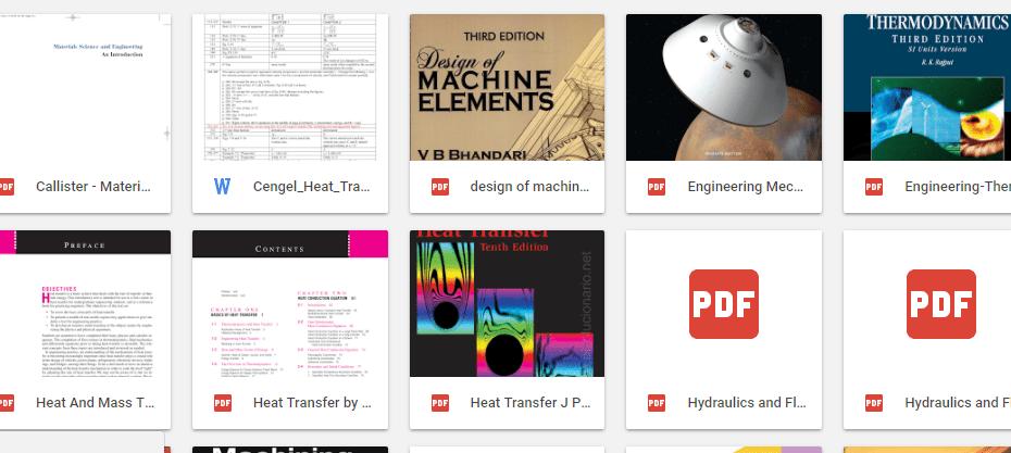 Mechanics Ebooks