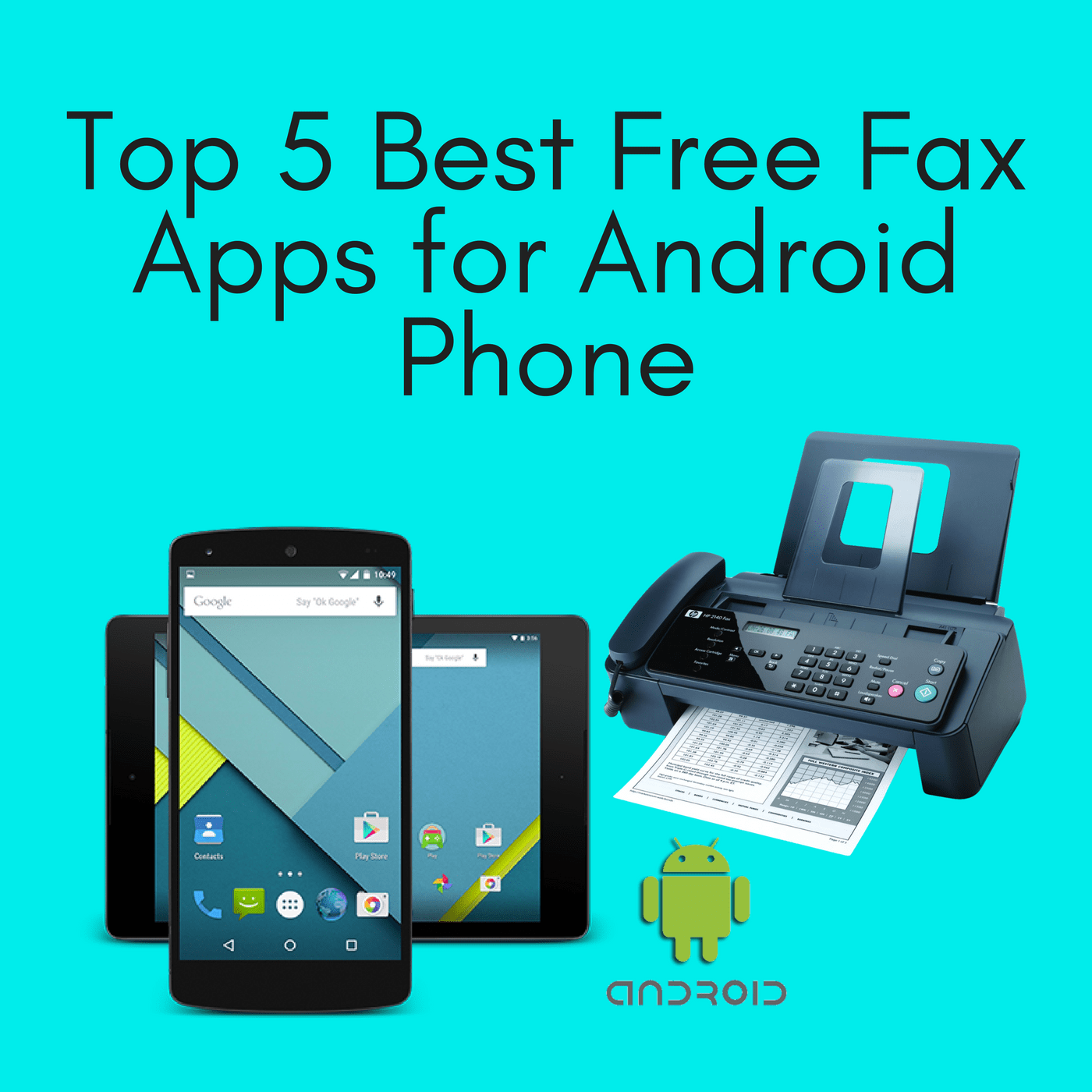 Top 5 Best Free Fax Apps For Iphone Ipad Google Fax Free