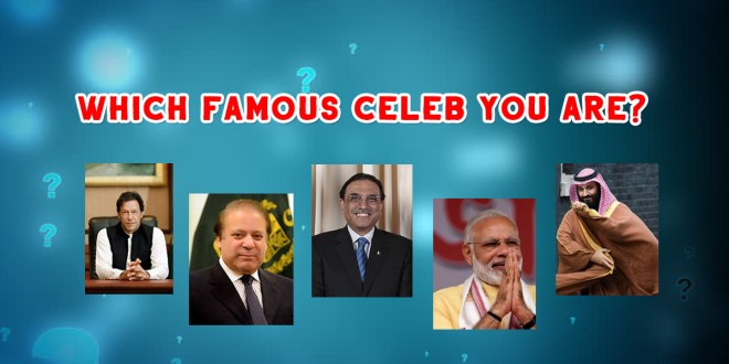 Which famous celeb you Are?