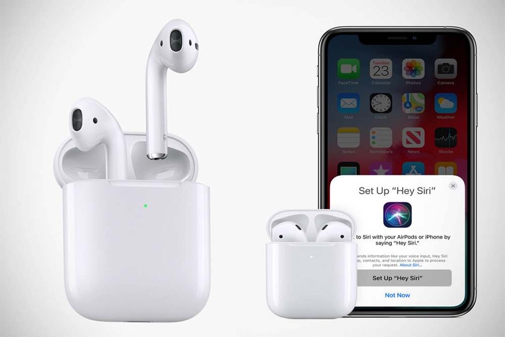 How do I connect my iPhone with AirPods?