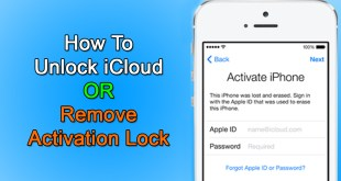 How to Unlock iCloud and Remove Activation Lock