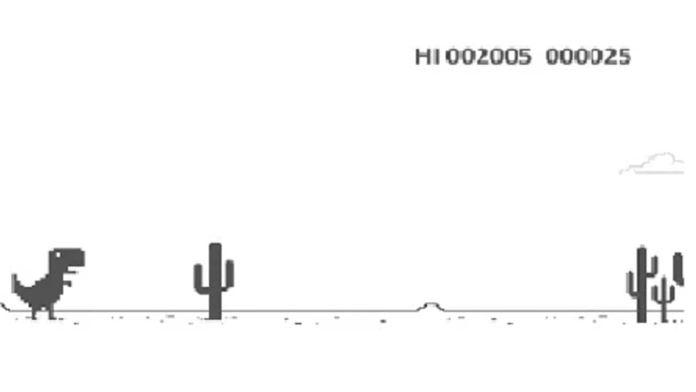 New avatar of Google Chrome   s offline dinosaur game: Sundar Pichai loses, how you can play