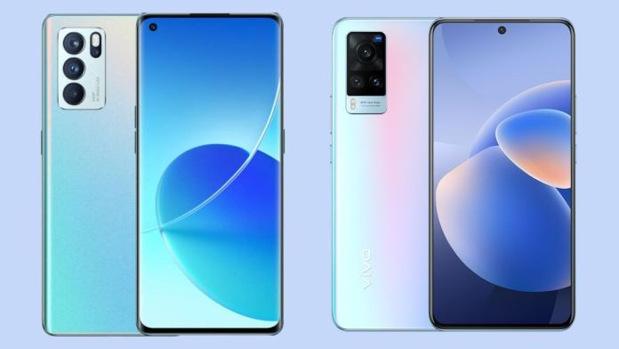 Oppo Reno 6 Pro vs Vivo X60: Which good-looking phone under Rs 40,000?