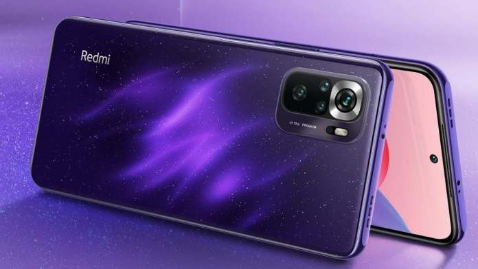 Xiaomi Redmi Note 10S will be painted in a new purple colour: Have a look
