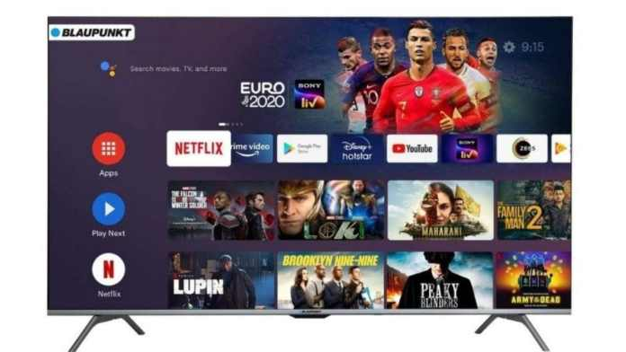 Blaupunkt 50-inch Android Smart TV launched at Rs 36,999