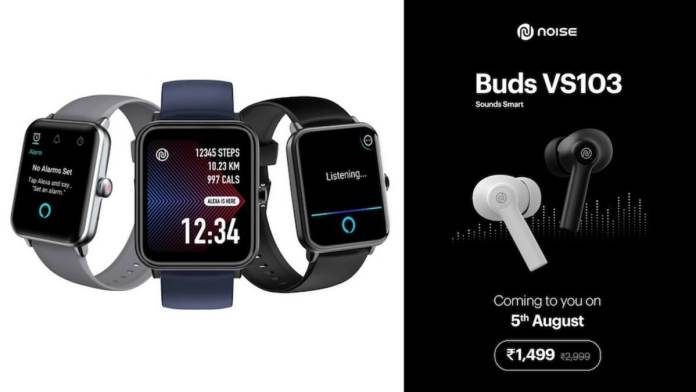 Noise ColorFit Pro 3 Assist, Buds VS103 launched in India: Price, specifications