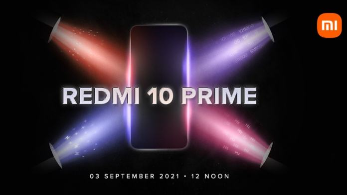 Redmi 10 Prime key details revealed ahead of September 3 launch