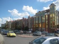 New buildings near the marina