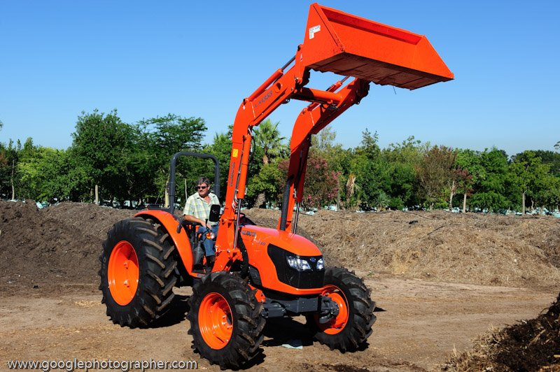 Kubota Product Photography