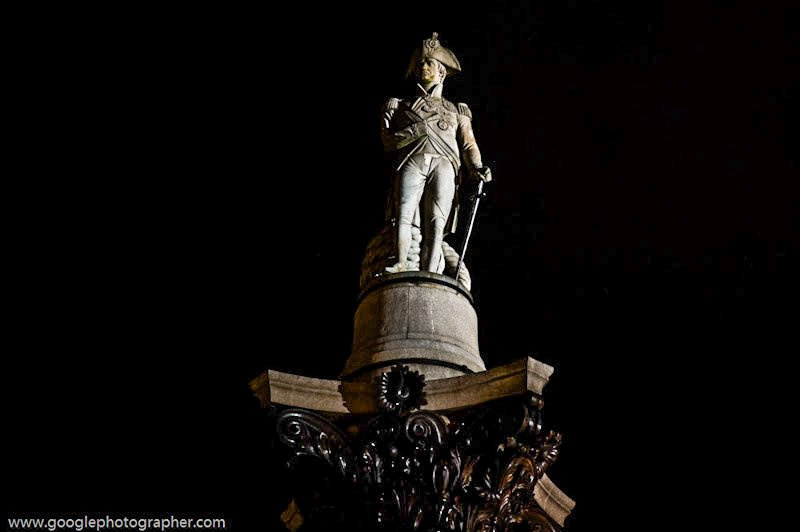 Lord Nelson Trafalgar Square London United Kingdom Travel Photography