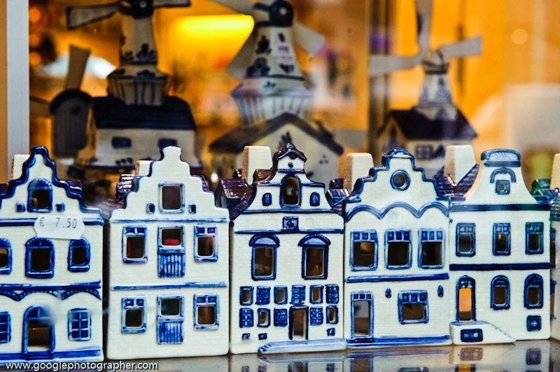 Dutch House Ornaments Travel Photography