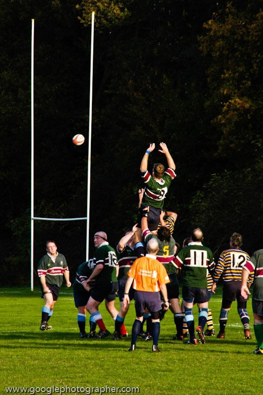 Line-out Jump Rugby Sport Photography