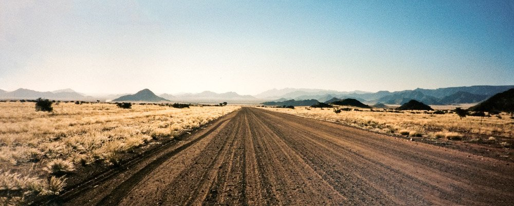 The road to Bethanie in the South of Namibia Landscape Photography