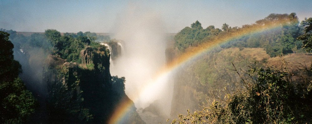 Victoria Falls in Zimbabwe Landscape Photography