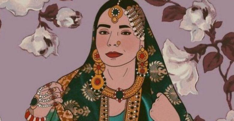 امریکی آرٹسٹ جو پاکستانی ورثے پر فخر کرنے کے لیے فن پارے بناتی ہے