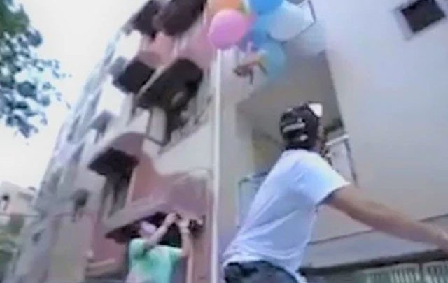 Tying a dog to a balloon and flying it in the air cost Indian YouTubers dearly