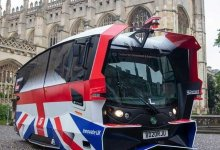 The automatic shuttle bus has been criticized for its bizarre design