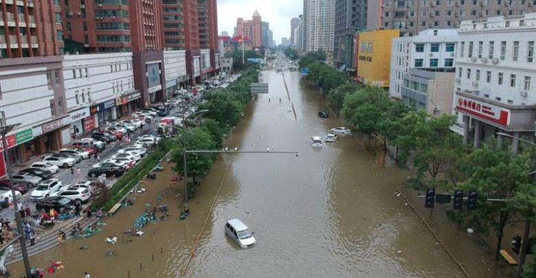 چین: بارشیں اور سیلاب، مختلف واقعات میں 33 افراد ہلاک