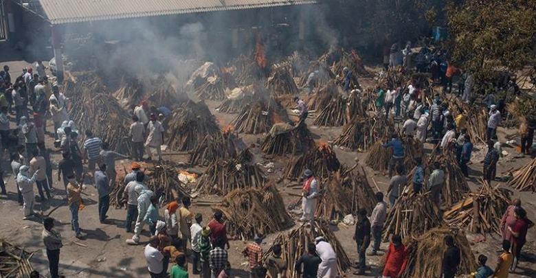 بھارت میں کرونا سے اموات دس گنا زائد ہونے کا خدشہ