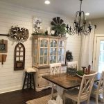 30 Best Farmhouse Table Dining Room Decor Ideas (18)