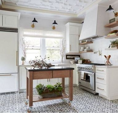 40 Best Modern Farmhouse Kitchen Decor Ideas And Design Trend In 2019 (12)