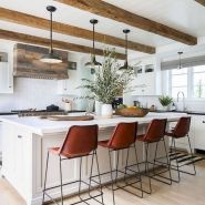 40 Best Modern Farmhouse Kitchen Decor Ideas And Design Trend In 2019 (29)
