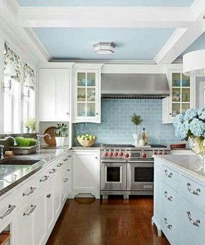 44 Best Farmhouse Kitchen Cabinets Design Ideas And Decor (26)