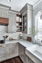 44 Best Farmhouse Kitchen Cabinets Design Ideas And Decor (33)