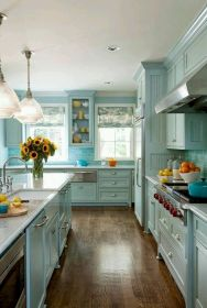 44 Best Farmhouse Kitchen Cabinets Design Ideas And Decor (5)