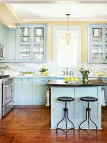 44 Best Farmhouse Kitchen Cabinets Design Ideas And Decor (7)