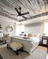 50 Awesome Farmhouse Bedroom Decor Ideas And Remodel (4)