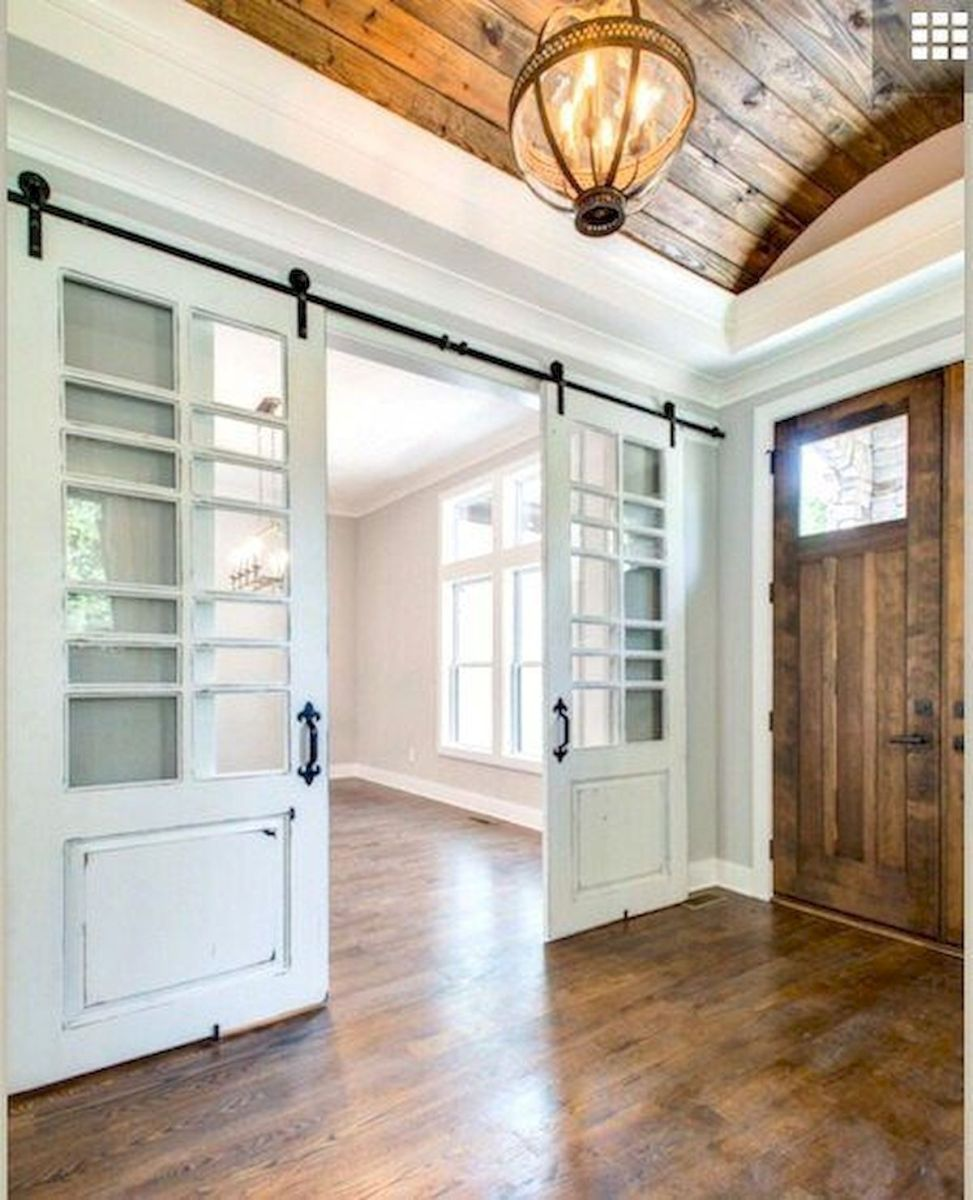 50 Best Farmhouse Entryway Design Ideas You Must Try In 2019 (32)