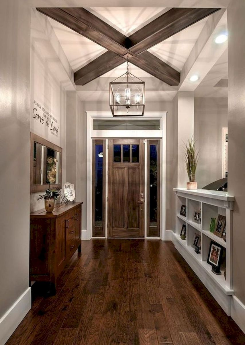 50 Best Farmhouse Entryway Design Ideas You Must Try In 2019 (33)