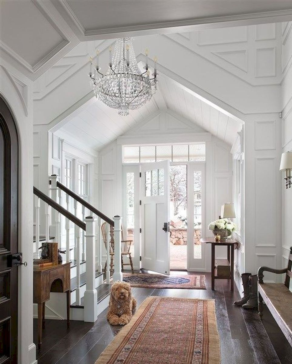 50 Best Farmhouse Entryway Design Ideas You Must Try In 2019 (43)