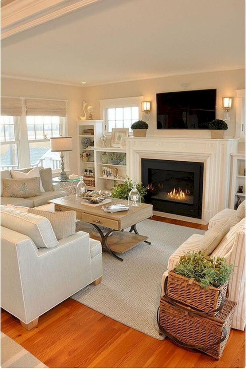 50 Best Modern Farmhouse Decor Ideas For Living Room (12)