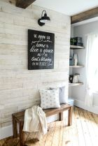 50 Stunning Farmhouse Mudroom Decor Ideas And Remodel (43)