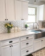 55 Fantastic Farmhouse Kitchen Backsplash Design Ideas And Decor (24)